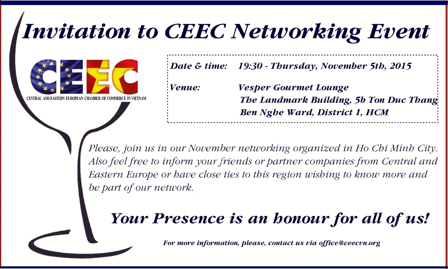 Ceec November Networking Event