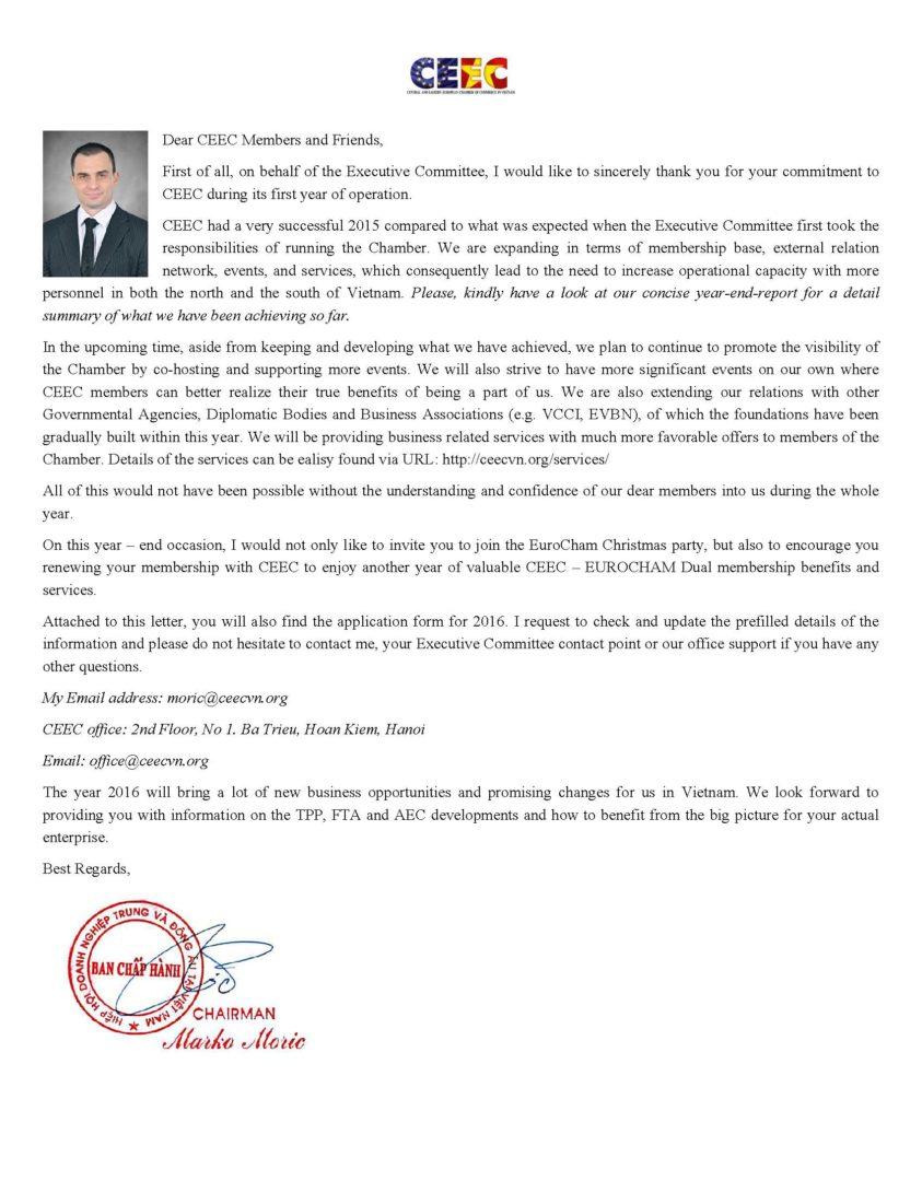 Ceec membership renewal 2016 ceec letter from chairman altavistaventures Choice Image