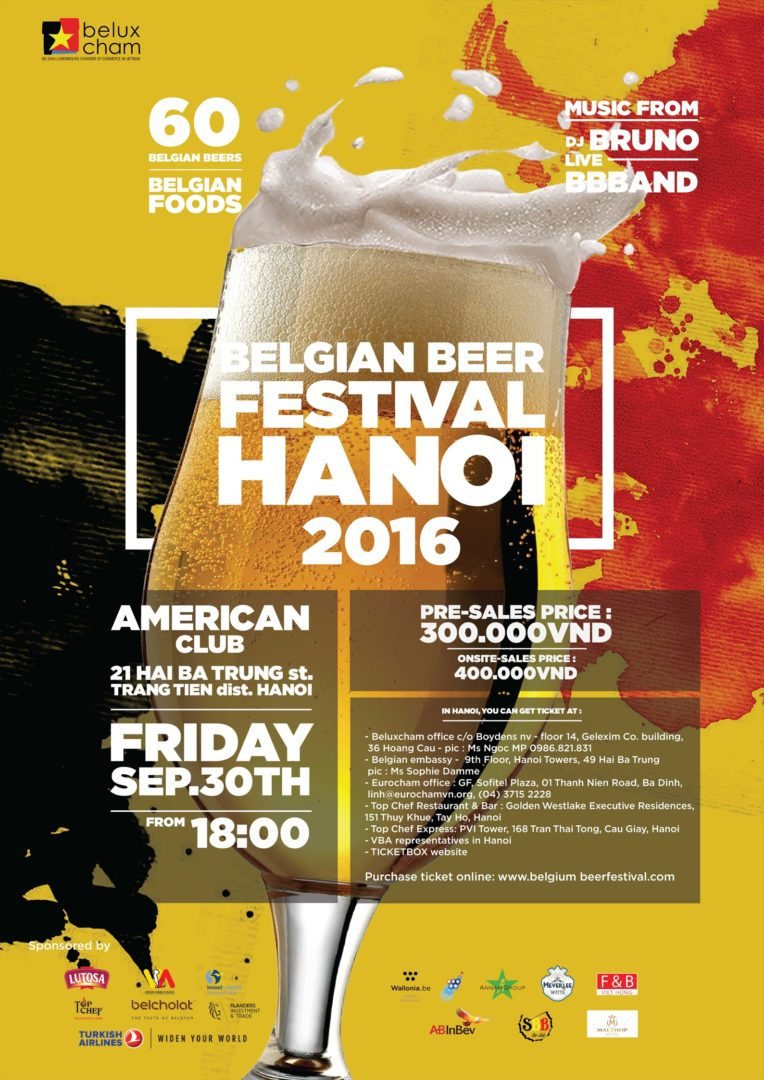 third edition of the belgian beer festival in hanoi